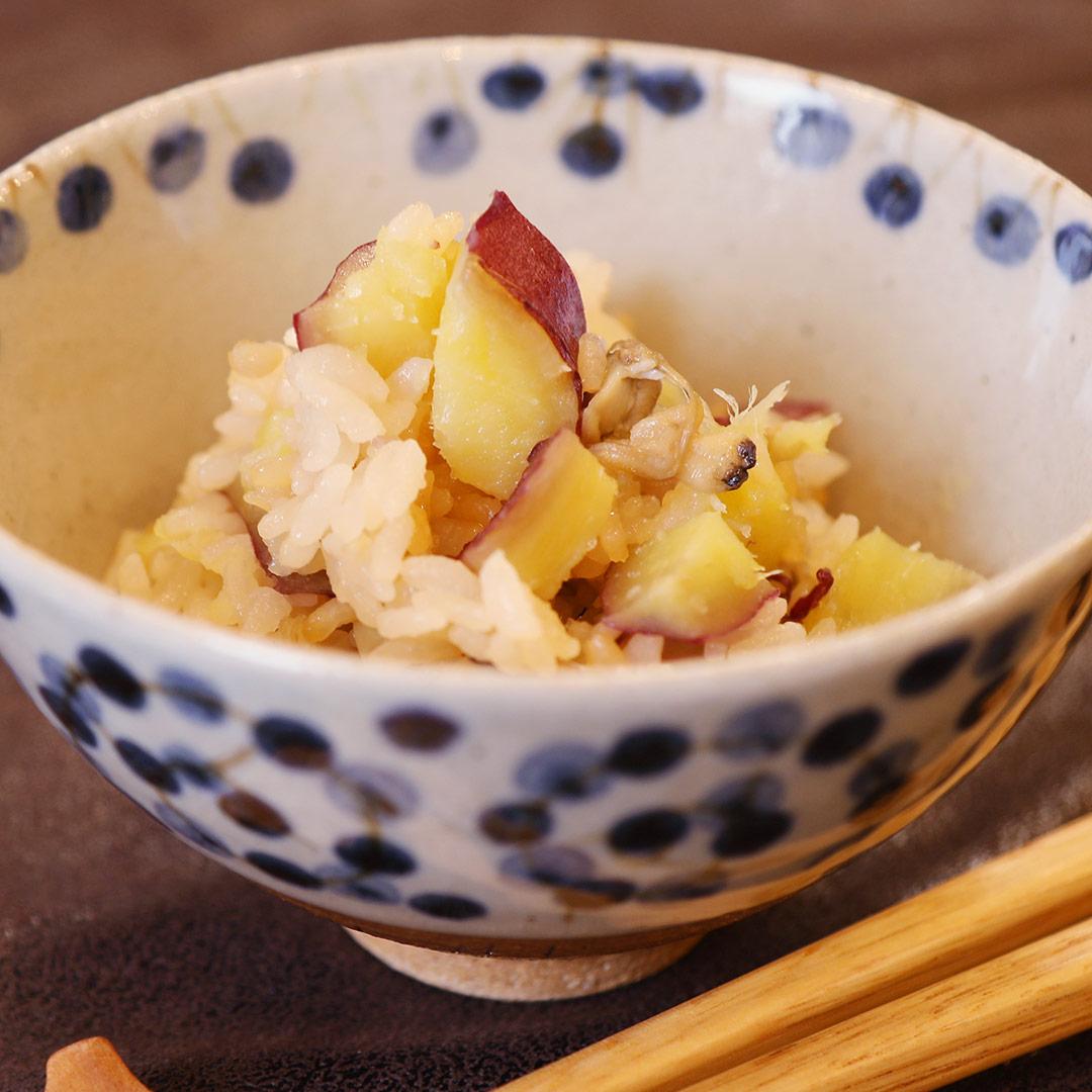 本郷さん家のさつまいもとあさりの炊き込みご飯(缶詰編)
