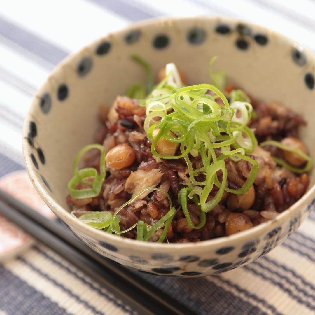 船木さん家の大豆の健康ごはん