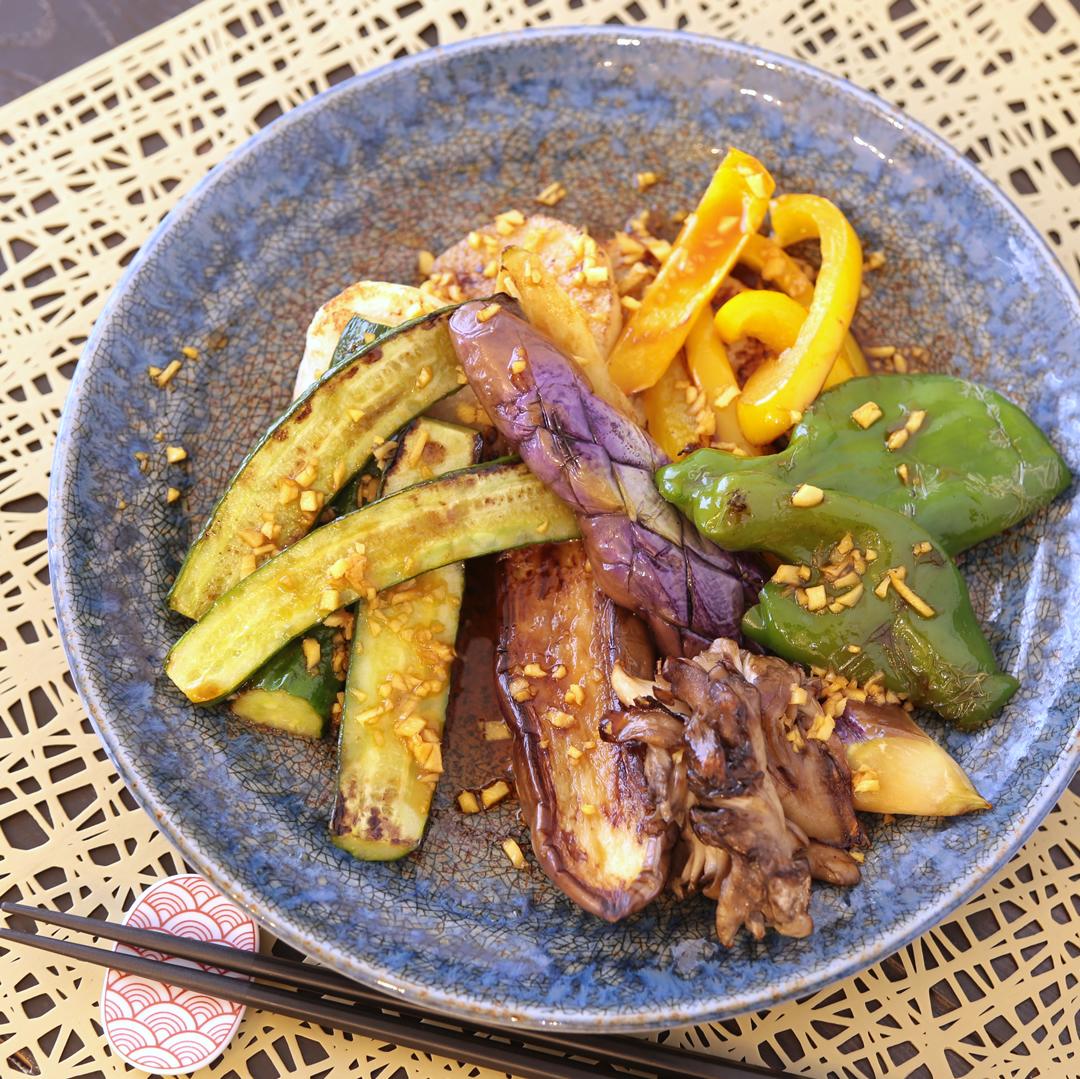 中村さん家の焼き野菜のサラダ