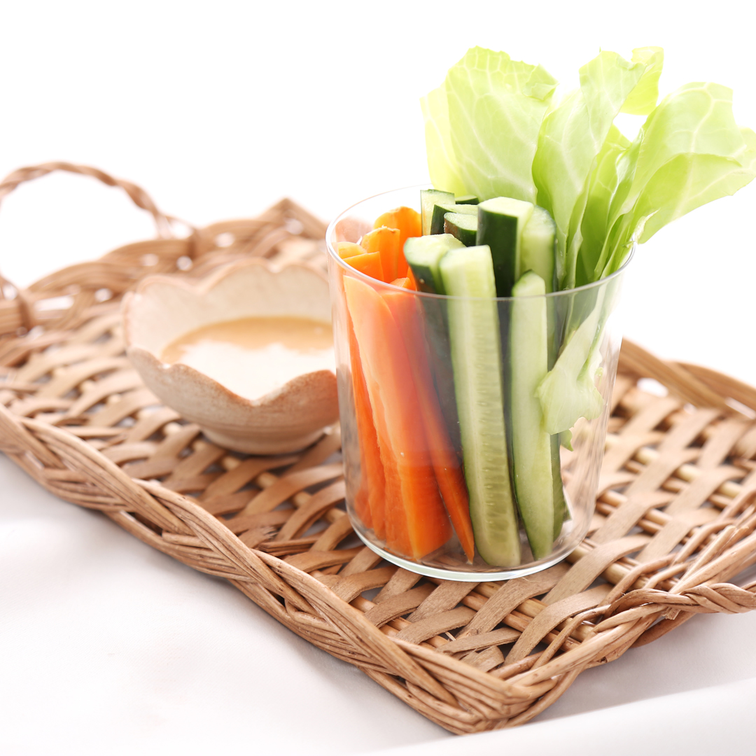 片橋さん家のもりもり食べようスティックサラダ