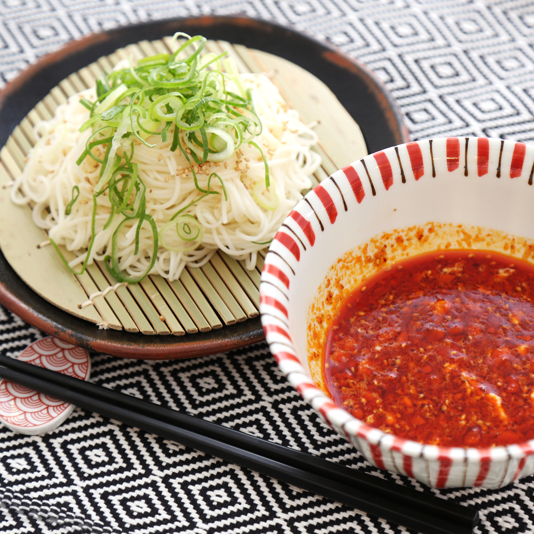 ポタ子さん家のゴマが溢れるつけ麺