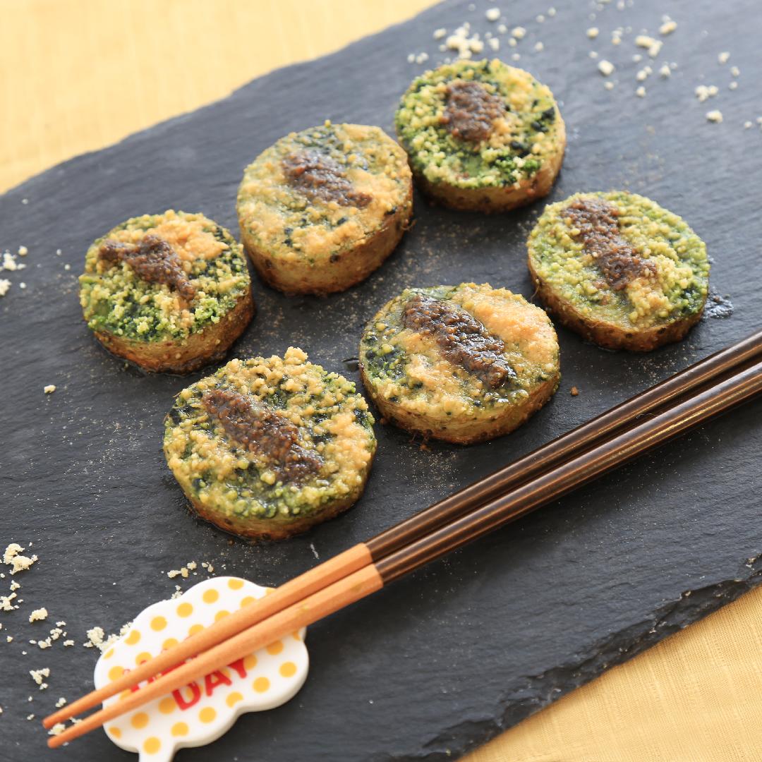 佐々木さん家の長芋のお茶チーズ焼き