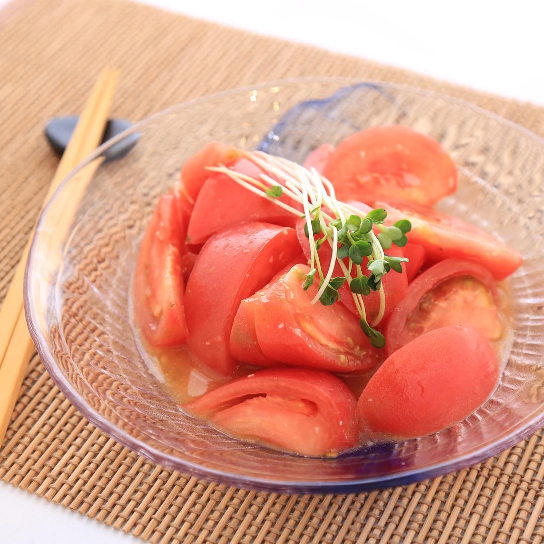 高橋さん家のトマトの簡単マリネ