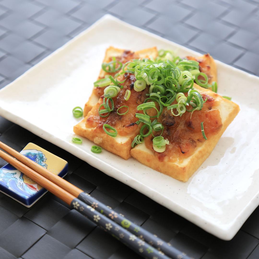 黒崎さん家の厚揚げ味噌マヨネーズ