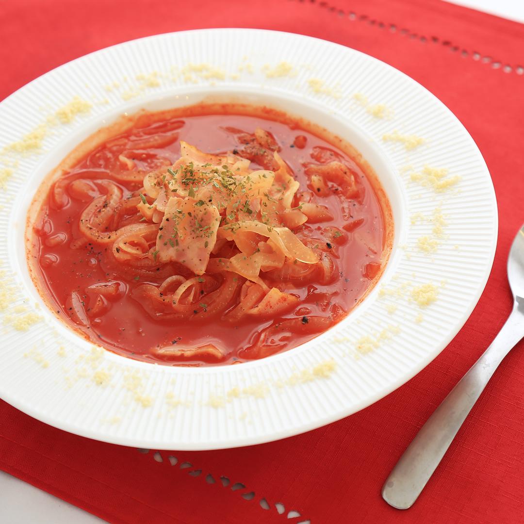 高原さん家のトマトジューススープ