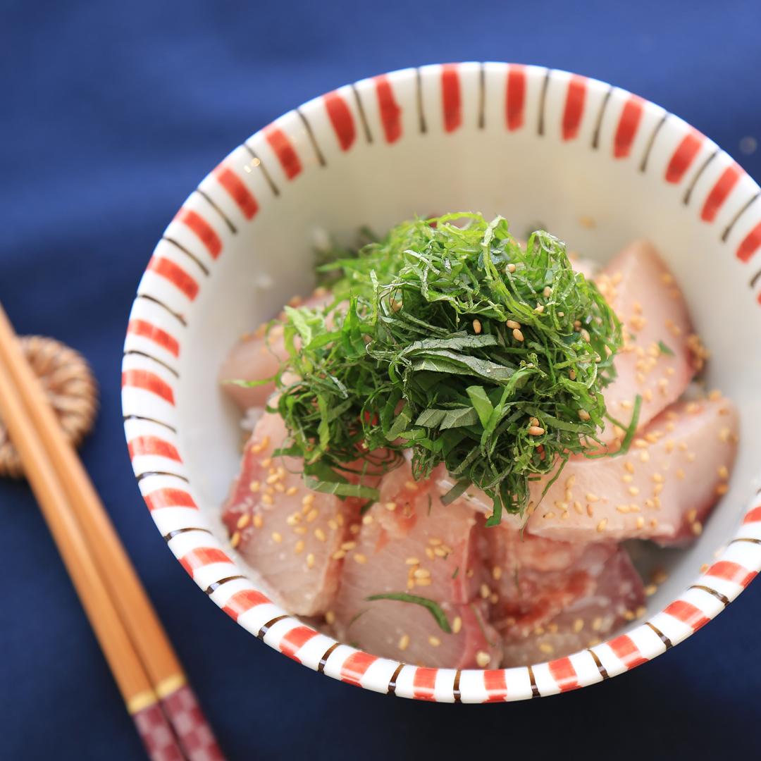 吉岡さん家のブリ丼
