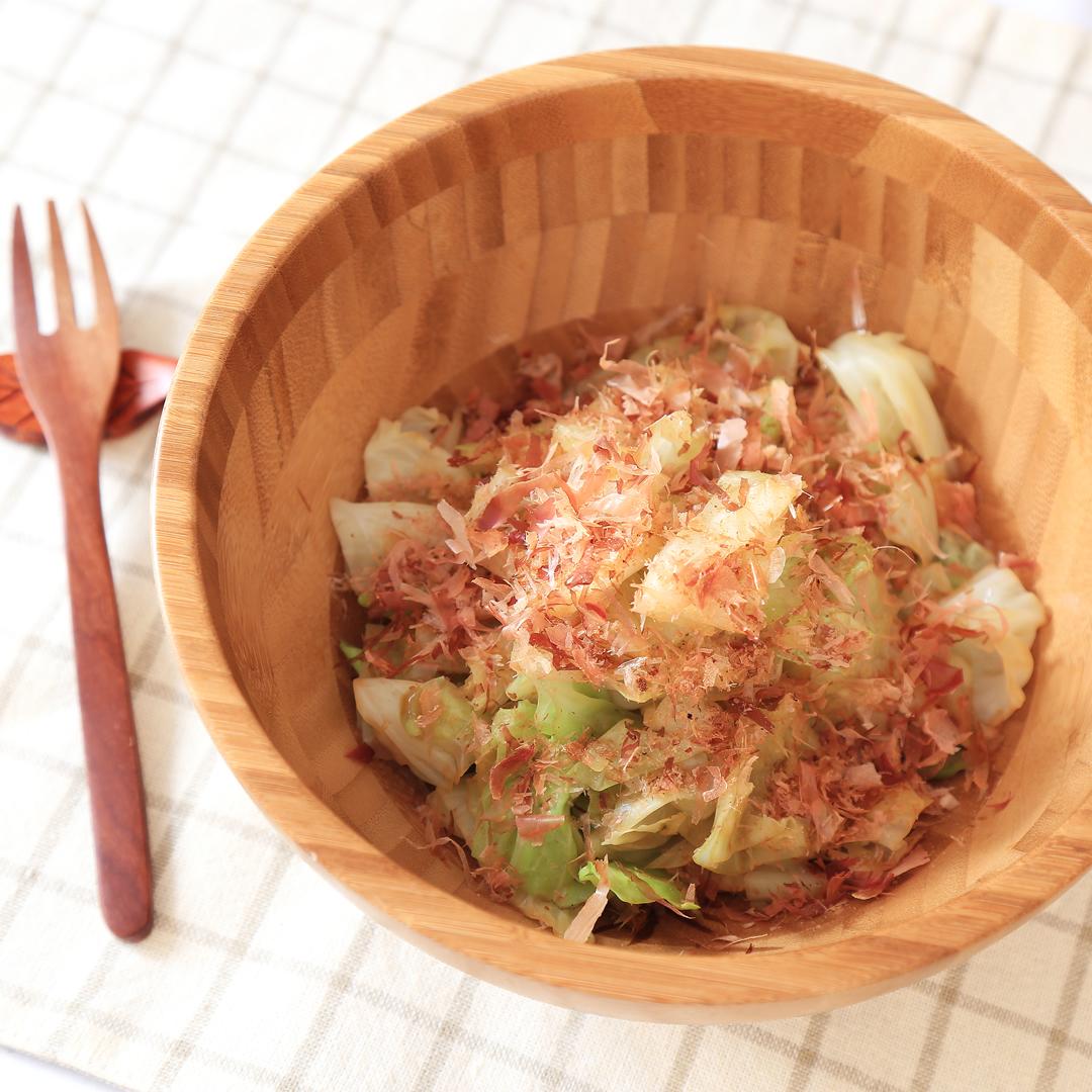 佐々木さん家のキャベツのホットサラダ