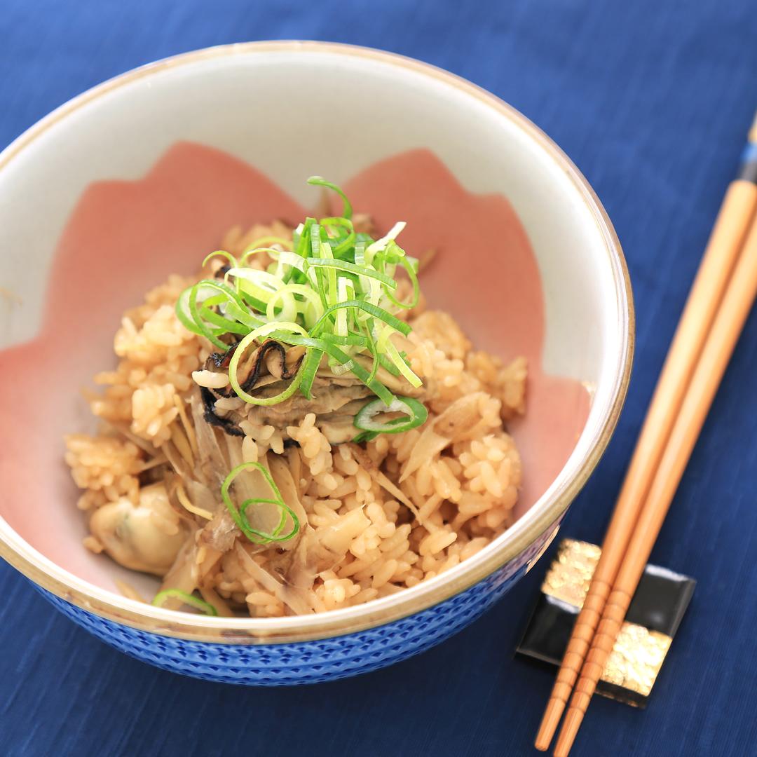 佐々木さん家の牡蠣の炊き込みご飯
