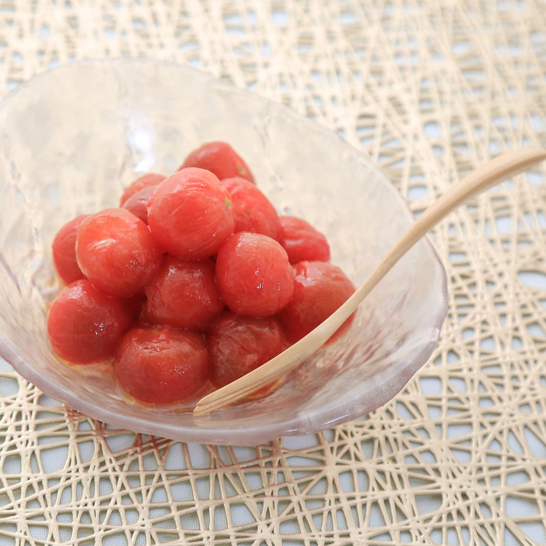 鈴木さん家のミニトマトのマリネ