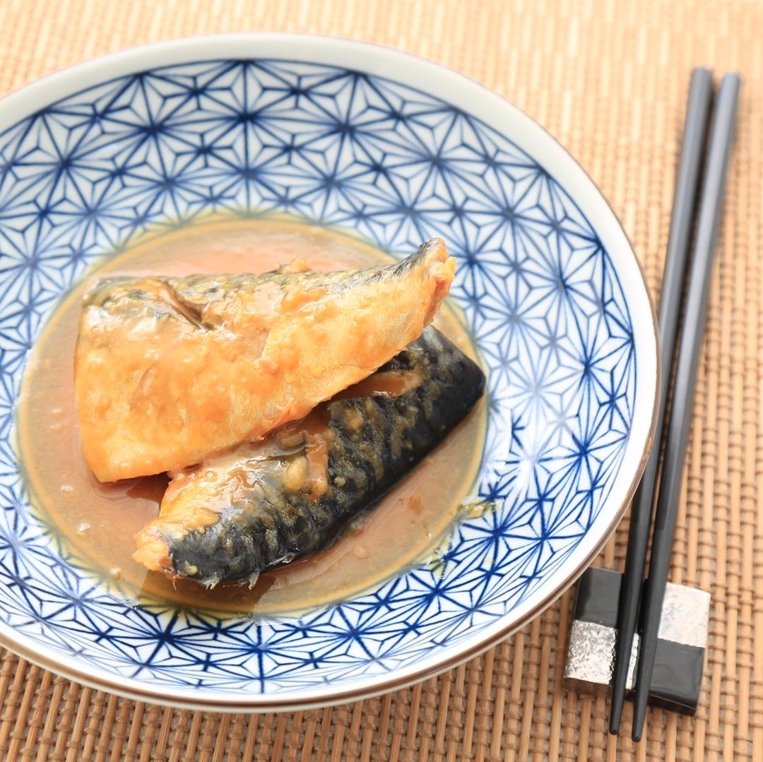 ポタ子さん家の塩サバの味噌煮