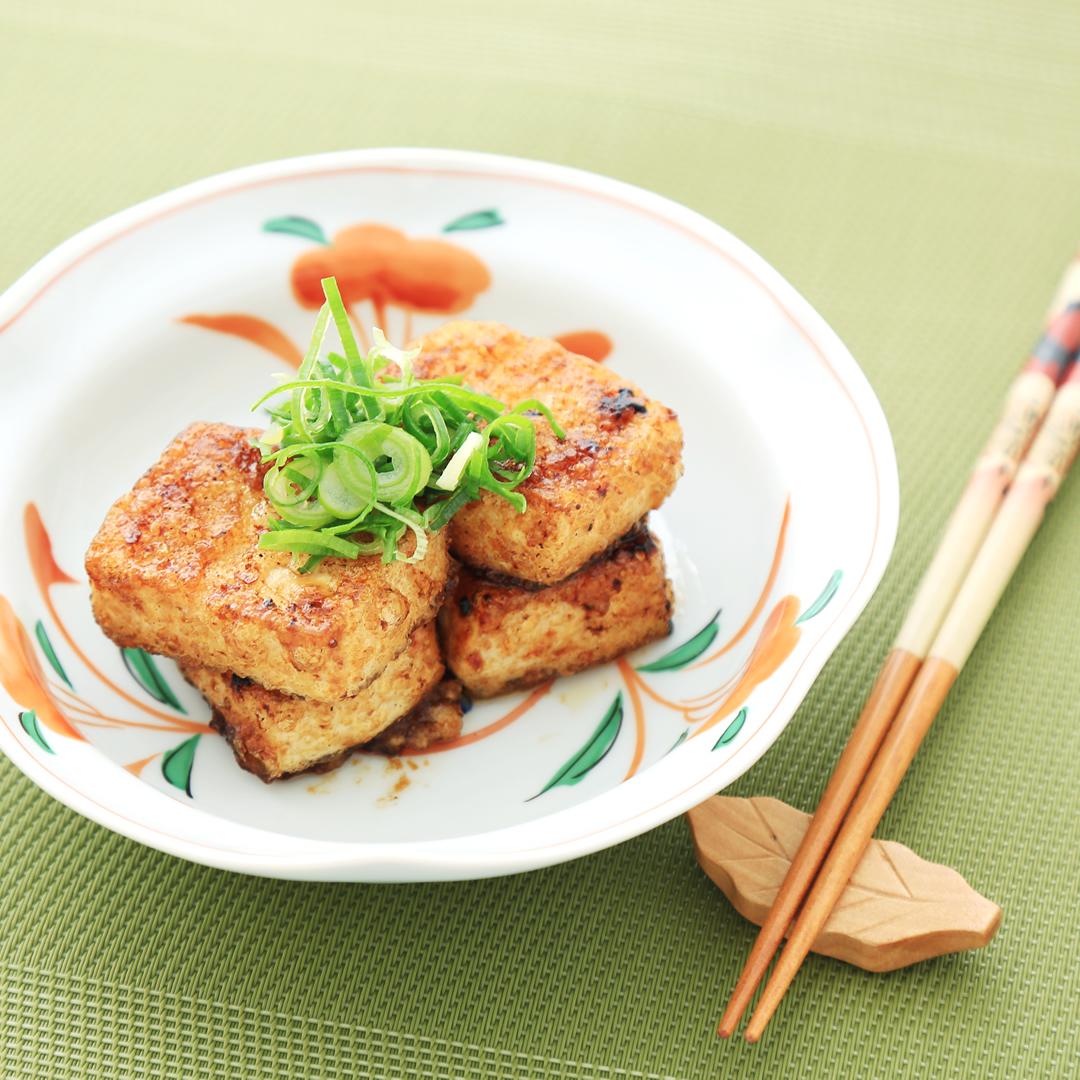 天野さん家の揚げ焼き豆腐