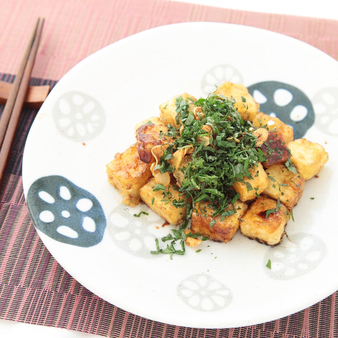 東山さん家の豆腐ステーキ
