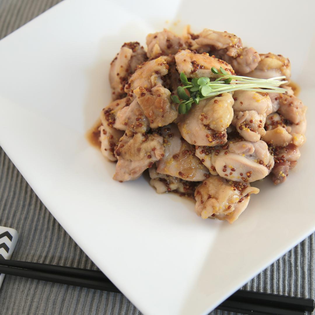 西川さん家の鳥もも肉のスイートマスタードソース