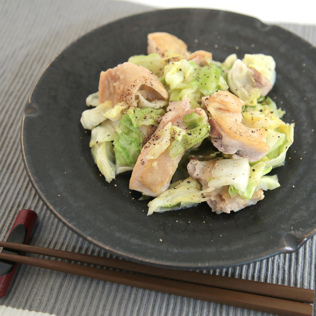 青山さん家の鶏もも肉とキャベツの蒸し焼き